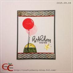 Crafty Cherry * Stampin' Up (SU) Cheerful Critters / Papertrey Ink (PTI) Birthday Style Stamp Set