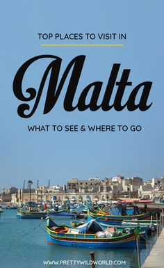 Planning a trip to Malta soon? Check out this awesome guide on the best places to visit in Malta including the when is the best time to visit Malta, how to travel to Malta, where to stay in Malta, how to get around Malta, where to stay in Malta, things to do in Malta, what to do in Malta, best attractions in Malta, and the best Malta points of interests. Save this Malta travel guide to your travel board so you can find it later! #Malta #MaltaTravel #Travel