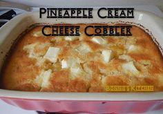 #pineapple #cobbler  Pineapple Cream Cheese Cobbler
