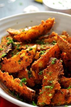 ... | Wedges Recipe, Parmesan Potato Wedges and Sweet Potato Wedges
