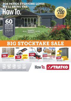 Stratco Catalogue 29 December - 11 January 2018 - http://olcatalogue.com/stratco/stratco-catalogue.html