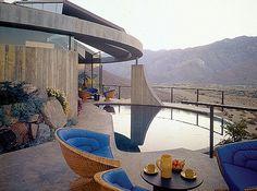 Elrod House. Palm Springs. John Lautner. 1968