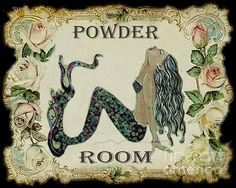 Google Image Result for http://fineartamerica.com/images-simple-print/images-medium/powder-room-vintage-mermaid-sylvia-pimental-.jpg