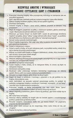 Wyzwanie czytelnicze #lista książek #jak czytać