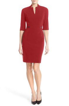 Red dress size 0 petite 4 restaurant