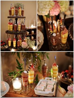 Beautiful food and tablescapes http://www.jayscatering.com/blog/category/dessert-tables/page/2/