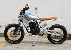 YAMAHA 225 SCRAMBLER by THE KATROS
