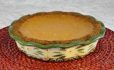 Ginger Snap Pumpkin Pie