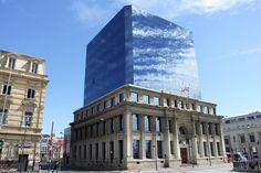 Imagem impressionante de Arquitetura velha misturou com os de novo no Chile