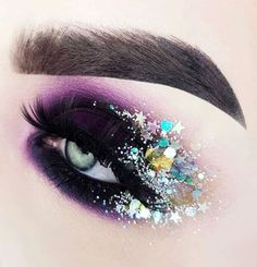 Makeup Goals, Makeup Inspo, Makeup Inspiration, Beauty Makeup, Makeup Style, Makeup Ideas, Eye Makeup Designs, Glitter Make Up, Beauty Killer