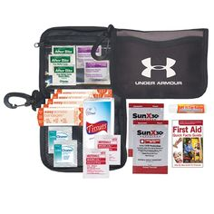 Kits - First Aid, Sports & Adventure Kits Disaster Kits, First Aid Kit, Beach Day, Sunscreen, Lip Balm, Alcohol, Things To Come, Sports, Giveaway