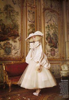 David Sims, Fashion, Fashion appreciation, Fashion Editorial, Grace Coddington, Models, Raquel Zimmermann, Vogue US