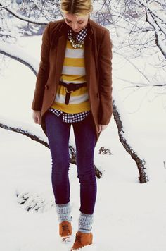 layers for winter. Everything.