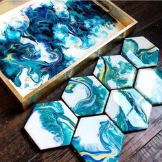 Amazing Resin Art done by artists with Counter Culture DIY products -- all available on our site! Gallery Page - Counter Culture DIY Diy Resin Art, Epoxy Resin Art, Diy Resin Crafts, Diy Epoxy, Diy Resin Table, Diy Resin Projects, Craft Projects, Diy Art, Resin Art Supplies