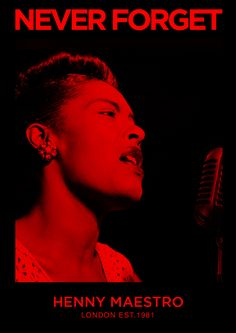 Never Forget Fridays - Giving Praise to the Ancestors!! #BillieHoliday http://www.henny-maestro.com/ #GODERA #London #Africa #Ancestors #motivation #ghana #ashanti #akan #inspiration #unity #love  #peace #happiness #blues #jazz