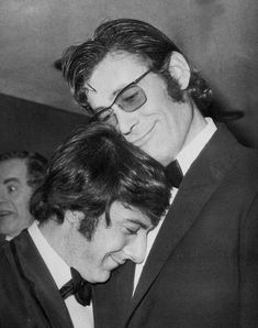 Dustin Hoffman and Peter O'Toole.