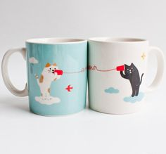 These mugs for you and yours: | Community Post: 19 Perfect Mugs For All The Cat Lovers In Your Life