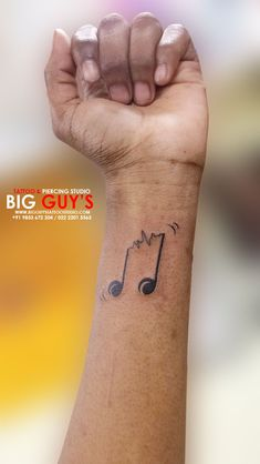 Ideas music tattoo for guys people