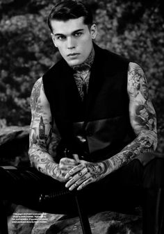 Stephen James: Grace & Discipline by Collier Schorr for Document Journal