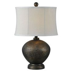 Forty West Miller Table Lamp 1 Piece   Overstock.com Shopping - The Best Deals on Table Lamps
