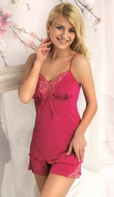 a74d0f136 Want to stay sexy on heated summer nights  Why not try some of our silky  satin nightwear to help you fend off the humidity. Jane Woolrich - Silk  Camisole ...