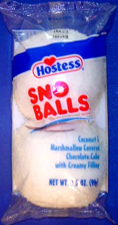 Hostess Sno Balls, Wal-mart had these last week.