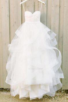 Wonderful Perfect Wedding Dress For The Bride Ideas. Ineffable Perfect Wedding Dress For The Bride Ideas. Wite Prom Dresses, Wedding Dresses 2018, White Wedding Dresses, Cheap Wedding Dress, Cheap Dresses, Bridal Dresses, Ivory Wedding, Long Dresses, Tulle Wedding