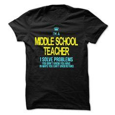I am a MIDDLE SCHOOL TEACHER