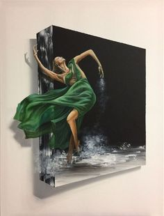 Buy 3D ballerina, Acrylic painting by Eka Peradze on Artfinder. Discover thousands of other original paintings, prints, sculptures and photography from independent artists.