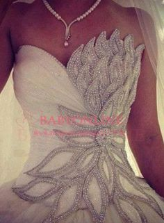 New Arrival Bridal Dress Fashionable Ball Gown Tulle Beaded Vestidos De Novia Wedding Dresses