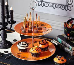 Tabulous Design: Dishing On Halloween @ Pottery Barn Kids