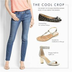 How to Style Cropped Denim   It's All About the Shoes!