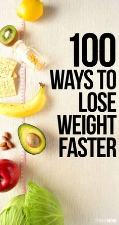 Knock off those extra pounds with these tips!