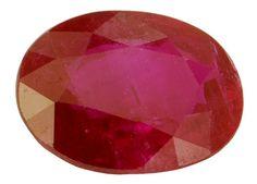 Ruby - 1.20cts - Oval - 7.35 x 5.55 x 3.50 mm - Mogok - 2,701.68 USD