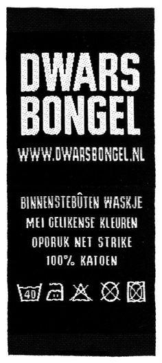 Washing label in het Frysk