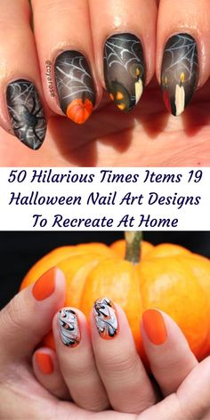 Although we can't celebrate Halloween like usual this year, nothing is getting in the way of our festive and spooky manicures. #19 #Halloween #NailArtDesigns 1 Dollar Shop, Oscar Fish, Blue Jeep, Korean Eye Makeup, Ankle Jewelry, Bridal Heels, Perfume, Iron Furniture, Office 365