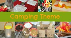 Camping Theme Activities http://www.pre-kpages.com/camping-theme-activities/