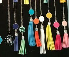 Fashion Jewelry Necklaces, Fashion Bracelets, Fashion Necklace, Jewelry Sets, Monogram Earrings, Monogram Jewelry, Personalized Jewelry, Fringe Earrings, Women's Earrings
