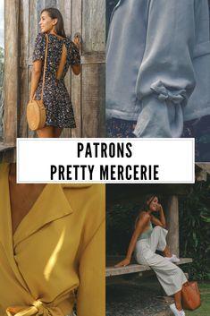 Patrons de couture Pretty Mercerie