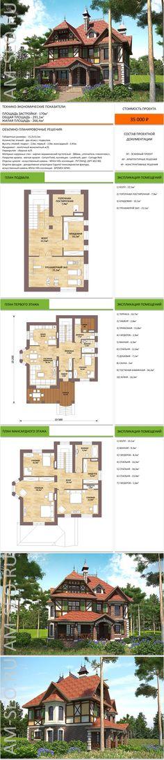 Типовые проекты, купить готовый проект загородного дома