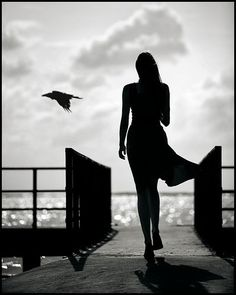 #silhouette #black/white #photography