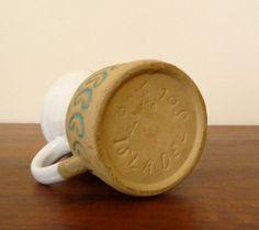Vintage ceramic creamer from Puerto Rico by theGildedZebra on Etsy