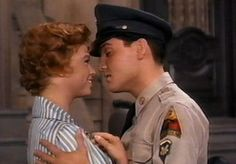 Elvis Presley & Juliet Prowse, ''G.I. Blues'' 1960......LOVE ANY Elvis movie.  :)