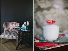 sweetest little chair  Frida Kahlo inspiration shoot by Imaginale Design http://imaginaledesign.com/