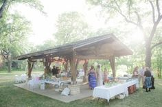 State Park Wedding, picnic area