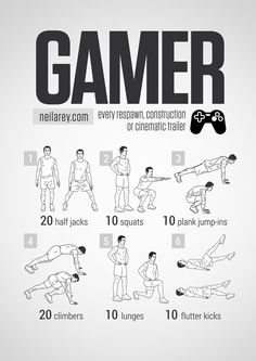 Gamer workout
