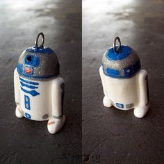 r2d2 polymer clay - Google Search