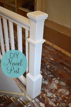 DIY Newel Post Tutorial