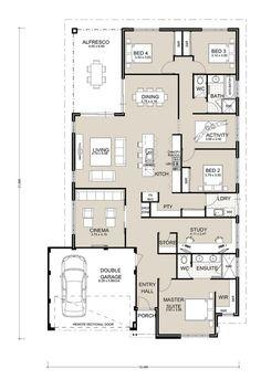 Perfect Portsea | Family Home | Single Storey Builder | Switch Homes. PerthFamily  HomesFloor PlansHouse ...