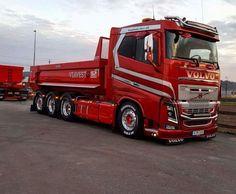 Volvo FH. kipper. Volvo Cars, Volvo Trucks, Rc Trucks, Big Rig Trucks, Dump Trucks, Bmw Cars, Custom Trucks, Truck Store, Scania V8